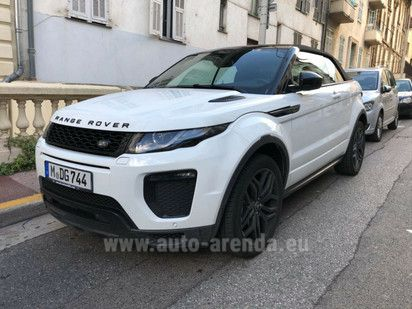 Buy Land Rover Range Rover Evoque Convertible HSE Dynamic in Italy