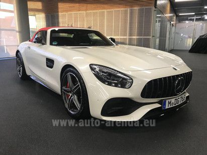 Buy Mercedes-AMG GT C Roadster in Italy