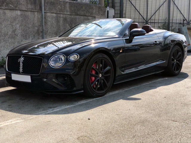 Cabriolet rental in Portofino