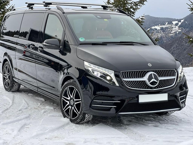 Booking and rental minivan, minibus, VAN 7-seats in Bergamo