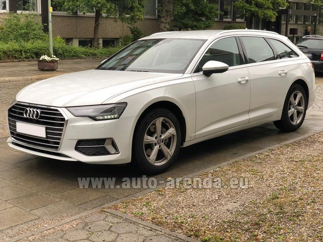 Rental Audi A6 40 TDI Quattro Estate in Turin
