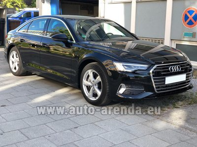 Ауди A6 45 TDI Quattro car for transfers from airports and cities in Germany and Europe.