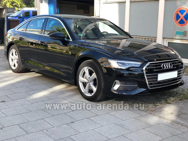 Transfer from Verona to Munich Airport by Ауди A6 45 TDI Quattro car