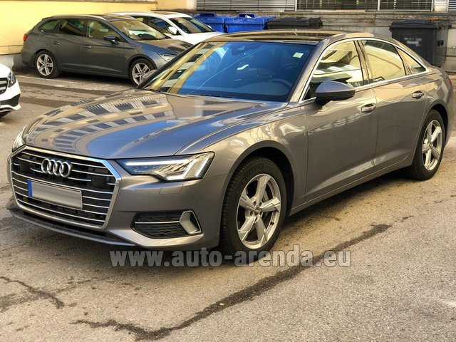 Hire and delivery to Venice airport the car Audi A6 45 TDI Quattro