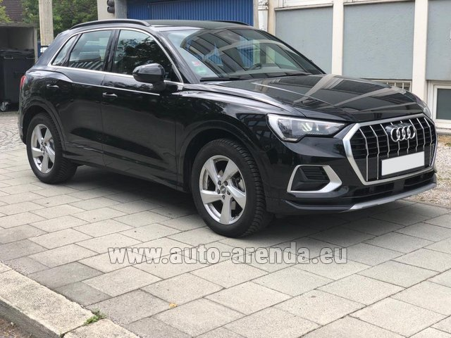 Hire and delivery to Rimini airport the car Audi Q3 35 TFSI Quattro