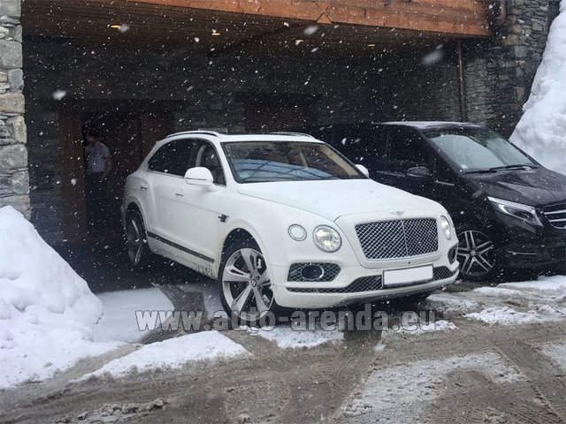 Трансфер из Больцано в Аэропорт Мюнхена на автомобиле Bentley Bentayga 6.0 litre twin turbo TSI W12