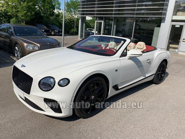 Rental Bentley GTC W12 First Edition in Positano