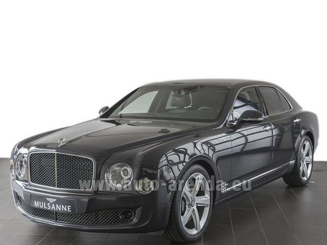 Прокат Бентли Mulsanne Speed V12 в Италии