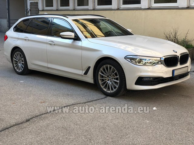 Hire and delivery to Rimini airport the car BMW 5 Touring Equipment M Sportpaket