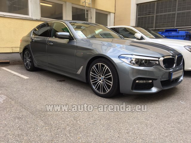 Hire and delivery to Rimini airport the car BMW 540i M