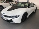 Прокат автомобиля БМВ i8 Родстер кабриолет First Edition 1 of 200 eDrive и доставка его в аэропорт Рим-Фьюмичино, фото 1