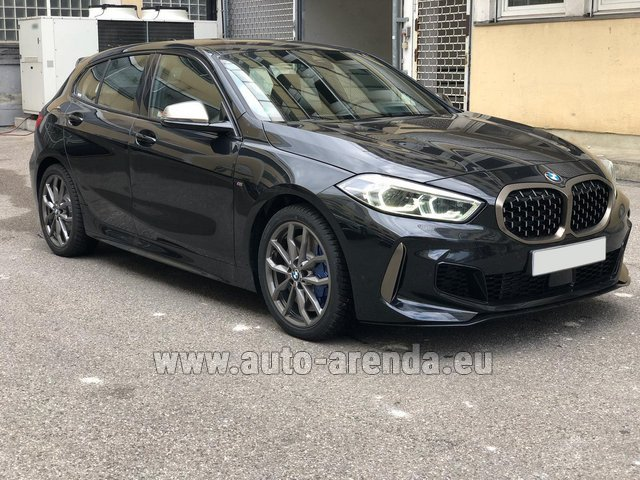 Hire and delivery to Venice airport the car BMW M135i XDrive