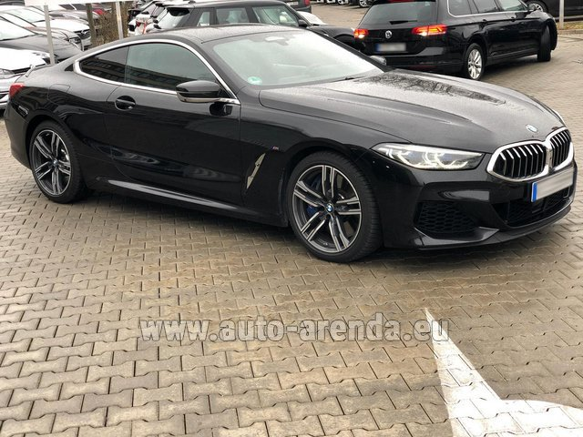 Прокат БМВ M850i xDrive Coupe в Милане