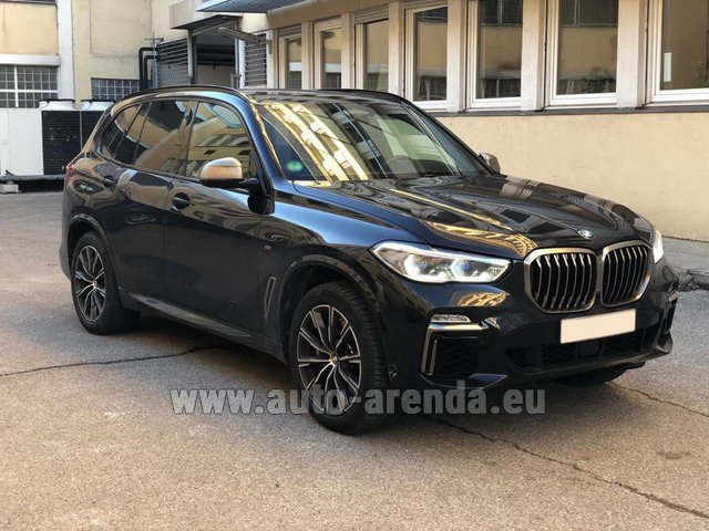 Hire and delivery to Rome-Ciampino airport the car BMW X5 M50d XDRIVE