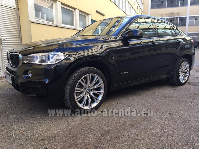 Прокат БМВ X6 3.0d xDrive High Executive M спорт пакет в Милане