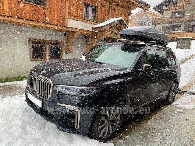 Transfer from Verona to Munich Airport by BMW X7 M50d (1+5 pax) car