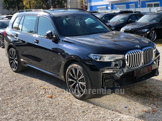Hire and delivery to Rome-Ciampino airport the car BMW X7 xDrive40i