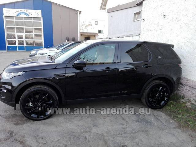 Rental Land Rover Discovery Sport HSE Luxury (5 Seats) in Naples