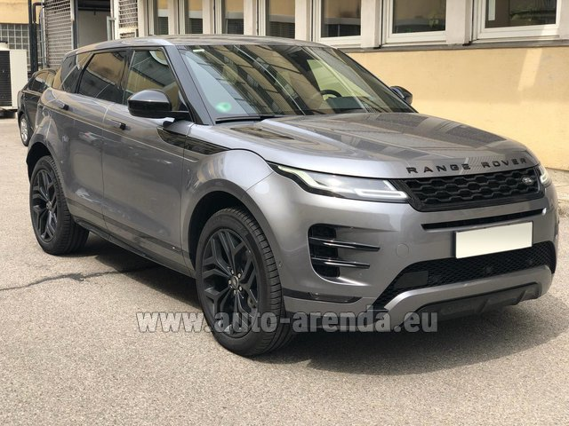 Rental Land Rover Range Rover Evoque D180SE in Naples