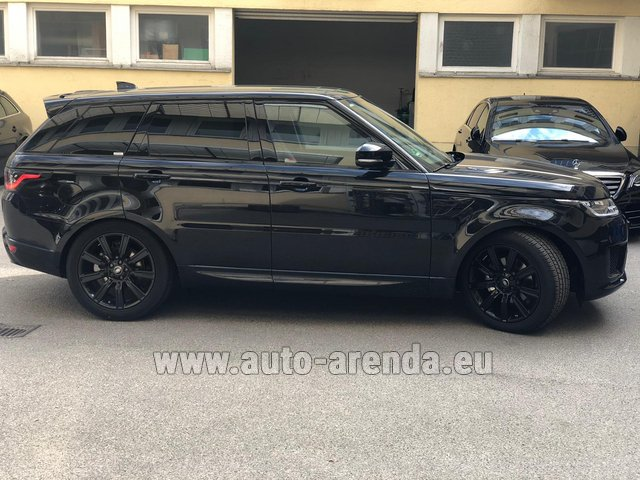 Rental Land Rover Range Rover Sport in Naples