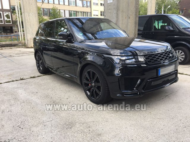 Hire and delivery to Rome-Ciampino airport the car Land Rover Range Rover SPORT