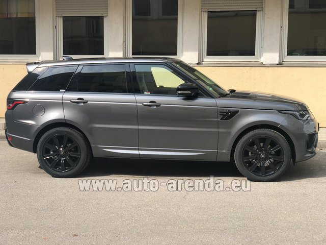 Rental Land Rover Range Rover Sport SDV6 Panorama 22 in Naples