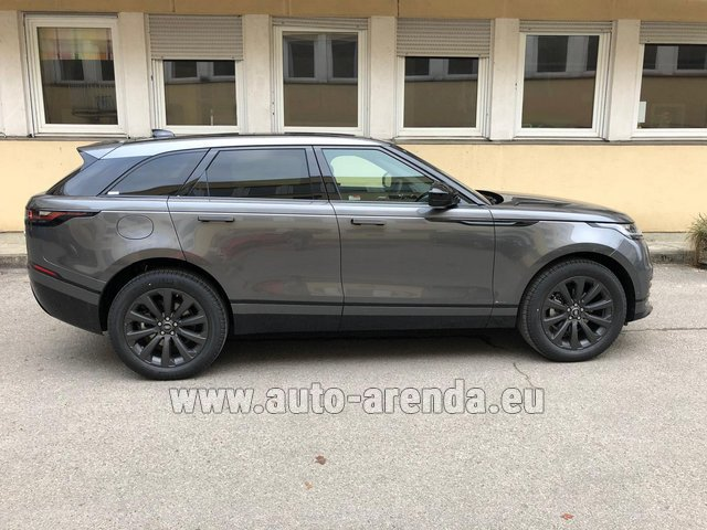 Hire and delivery to Rome-Ciampino airport the car Land Rover Range Rover Velar P250 SE