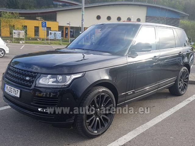 Rental Land Rover Range Super Charge 5.0L Long in Naples
