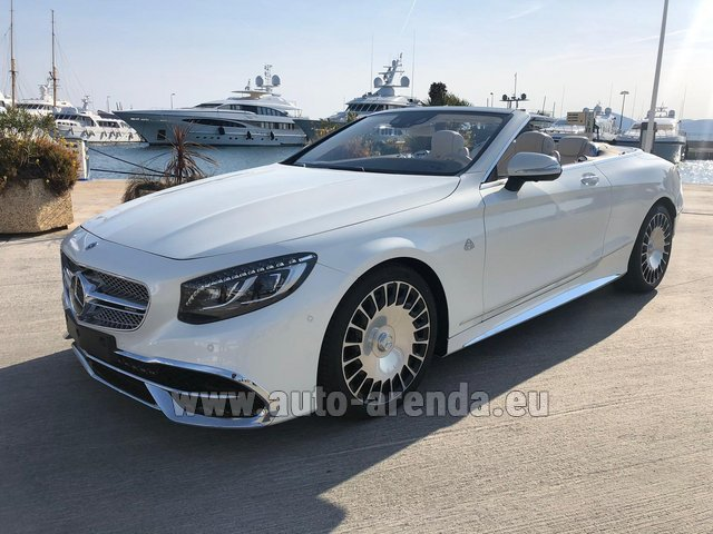 Прокат Maybach S 650 Cabriolet, 1 of 300 Limited Edition в Тоскане