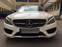 Rent-a-car Mercedes-Benz C-Class C43 AMG Biturbo 4MATIC White in Verona, photo 2