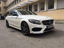Rent-a-car Mercedes-Benz C-Class C43 AMG Biturbo 4MATIC White in Verona, photo 5