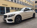 Rent-a-car Mercedes-Benz C-Class C43 AMG Biturbo 4MATIC White in Verona, photo 1