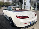Rent-a-car Mercedes-Benz E-Class E 300 Cabriolet equipment AMG in Naples, photo 3