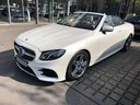 Rent-a-car Mercedes-Benz E-Class E 300 Cabriolet equipment AMG in Naples, photo 1