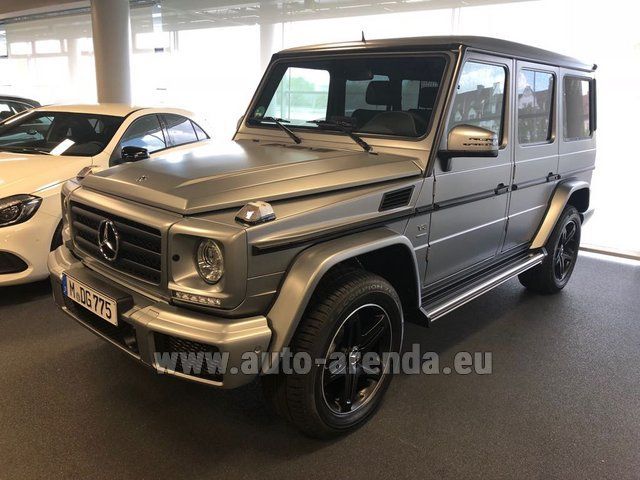 Hire and delivery to Rome-Ciampino airport the car Mercedes-Benz G-Class G 500 Limited Edition