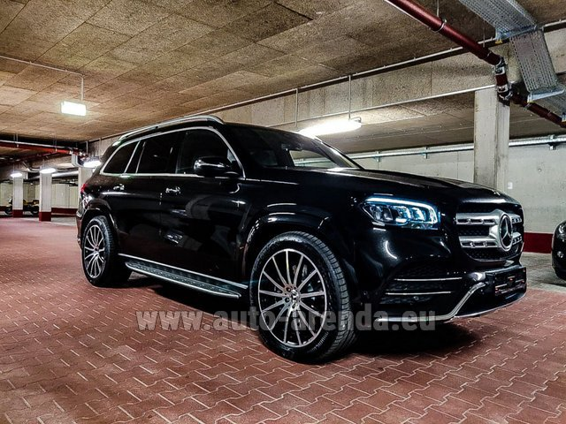 Прокат Мерседес-Бенц GLS 400d 4MATIC BlueTEC комплектация AMG в Италии