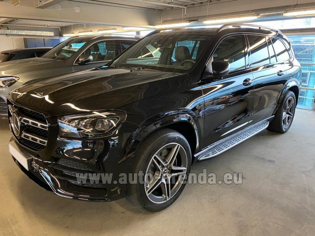 Прокат Мерседес-Бенц GLS 400d BlueTEC 4MATIC комплектация AMG в Италии