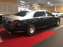 Прокат автомобиля Maybach S 560 4MATIC комплектация AMG Metallic and Black в Турине, фото 4