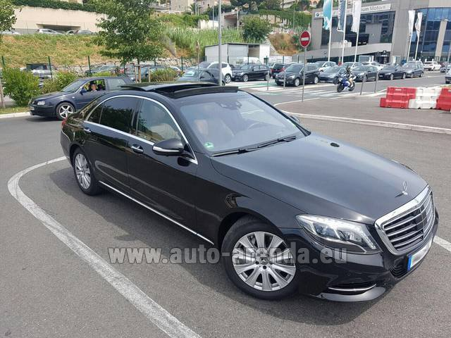 Hire and delivery to Venice airport the car Mercedes-Benz S 350 Long AMG