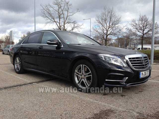 Трансфер из Лацизе в Мюнхен на автомобиле Mercedes-Benz S350 Long 4MATIC комплектация AMG