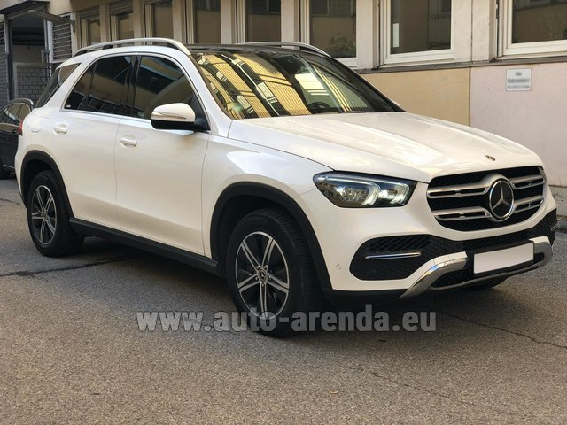 Hire and delivery to Rimini airport the car Mercedes-Benz GLE 350 4Matic AMG equipment