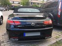 Rent-a-car Mercedes-Benz S 63 AMG Cabriolet V8 BITURBO 4MATIC+ in Milan, photo 6
