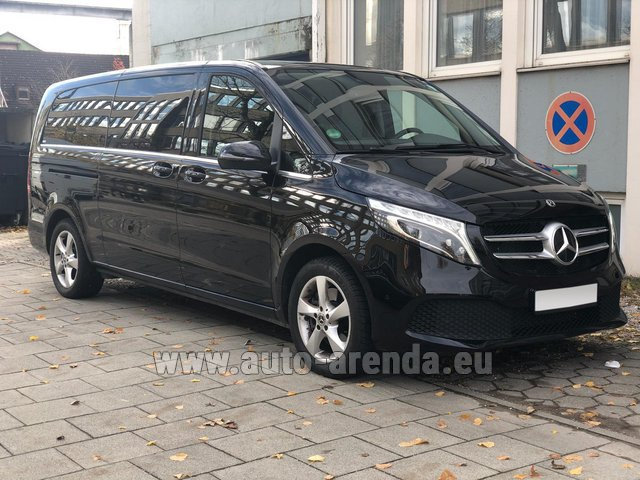 Rental Mercedes-Benz V-Class V 250 Diesel Long (8 seater) in Milan