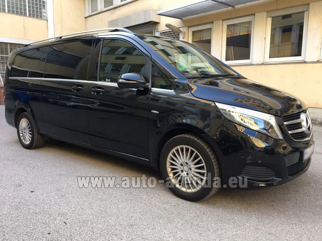 Hire and delivery to Roma-Fiumicino airport the car Mercedes-Benz V-Class V 250 Diesel Long (8 seats)