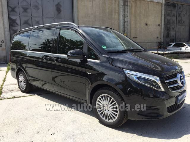 Hire and delivery to Roma-Fiumicino airport the car Mercedes-Benz V-Class (Viano) V 250 Long 8 seats