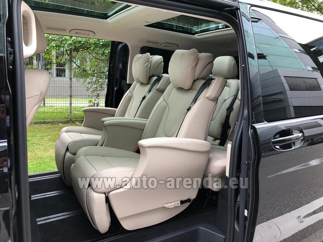 Rental Mercedes-Benz V300d 4MATIC EXCLUSIVE Edition Long LUXURY SEATS AMG Equipment in Milan