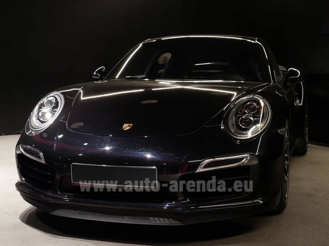 Прокат Порше 911 991 Turbo S Ceramic LED Sport Chrono Пакет в Болонье