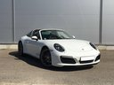Rent-a-car Porsche 911 Targa 4S White with its delivery to Roma-Fiumicino airport, photo 1