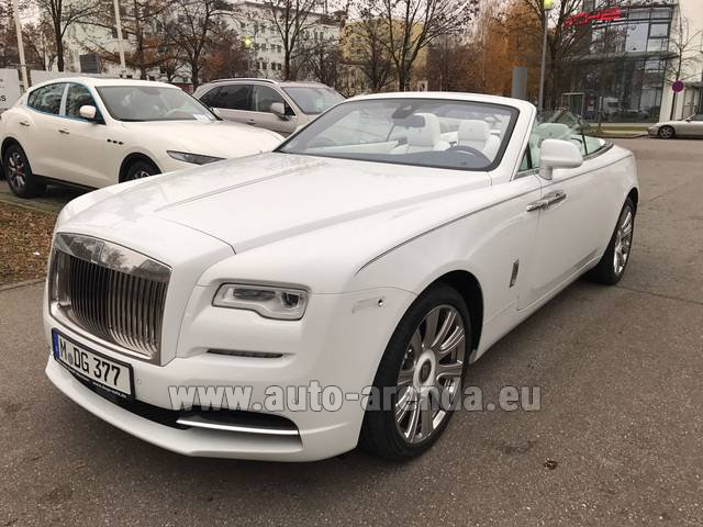 Rental Rolls-Royce Dawn in Venice