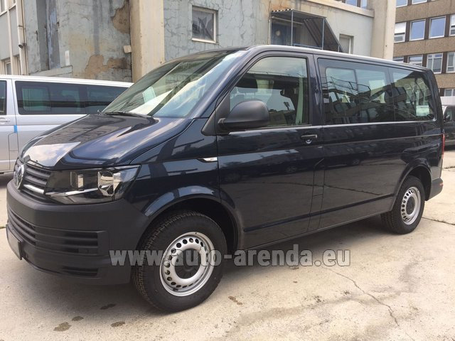 Hire and delivery to Roma-Fiumicino airport the car Volkswagen Transporter T6 (9 seater)